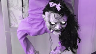 Scary White Lady That Make You Jump Scream Cry For Kids Halloween Pranks Ghosts Videos