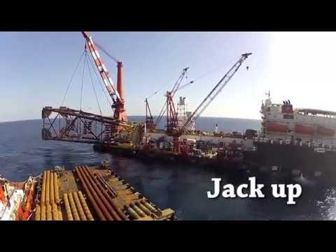 Kegiatan Persiapan & Instalasi Platform Offshore