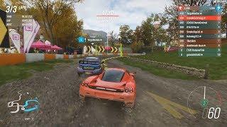 Forza Horizon 4 - WRC Ferrari Enzo S1-Class Build in Ranked Adventure