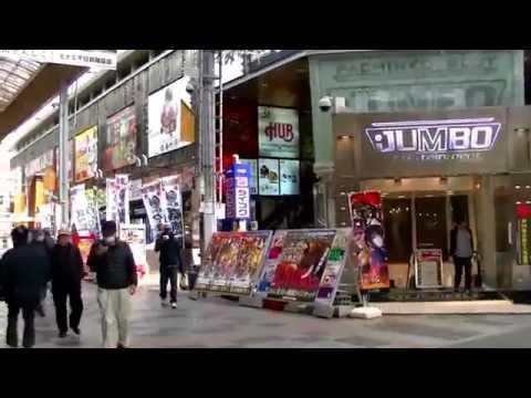 2017 [ 大阪散步行 ]  - Osaka南海電鐵Namba難波站~Oriental、Red Roof Plus 、Vista、ibis Styles、Dormy、太陽道酒店 心齋橋道頓堀街歩き