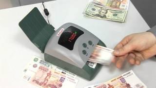 видео Автоматический детектор банкнот