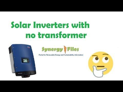 Transformerless Solar Inverters