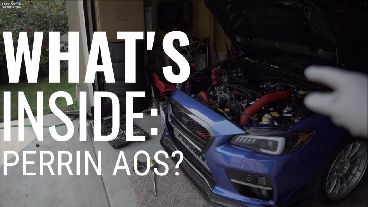 whats inside perrin aos air oil serarator ets intake cleaning