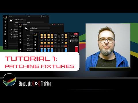 Tutorial 1: Patching Fixtures (deutsch, english subtitle) thumbnail