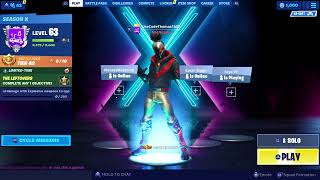 RED STRIKE STARTER PACK SKIN! SEASON 10 STARTER PACK! Fortnite Season X LIVE!