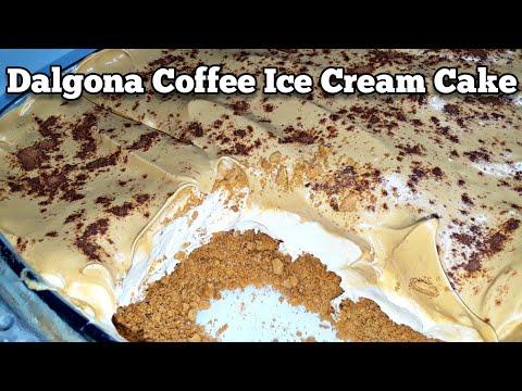 Dalgona Coffee Ice Cream Cake Trending Dalgona Coffee Recipe Homemade Dalgona Coffee Youtube