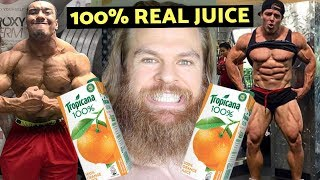 Are You Training With 100% Freshly Squeezed Juice?