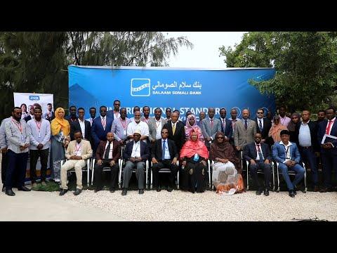 Salaam Somali Bank oo maanta daahfurtay nidaam bangiyeed cusub oo casri ah.