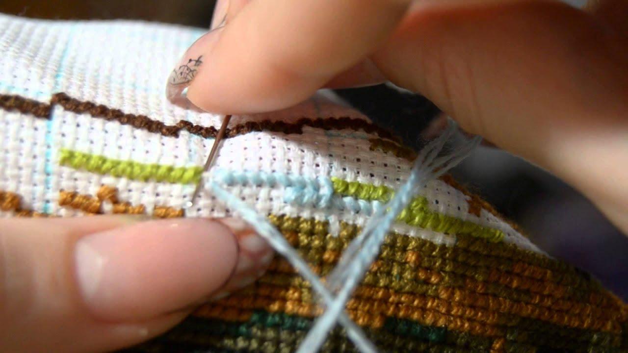 Процессы вышивки 2016