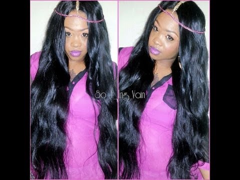 34inch Hair 6 Bundles Full Review Peruvian Body Wave