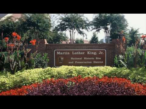 Luther King Jr  Historic Site, Atlanta, Usa