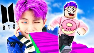 Can You Beat This BTS ROBLOX GAME!? (BTS OBBY)