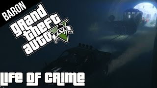 GTA 5 PS4 - The Great Train Robbery Escape! (GTA 5 Next Gen Gameplay)
