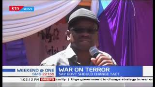 James Orengo says government should change tact in the fight against terrorism