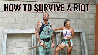 How To SURVIVE A RIOT Looting & Social Unrest
