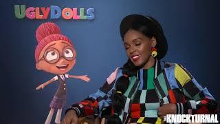 Janelle Monáe Talks 'Ugly Dolls'