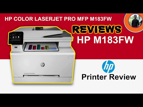 Reviews​ Hp ColorLaserjet Pro MFP M183FW | Printer Hp Print | Scan | Copy | Fax & Wifi-Print Reviews