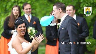 Tanzende Hochzeit in Jena am Paradies
