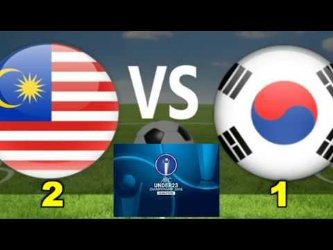 MALAYSIA U23 ( 2 - 1 ) SOUTH KOREA U23