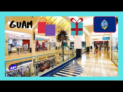 GUAM, aerobic exercises in the center of MICRONESIA MALL (Micronesia, Pacific Ocean)