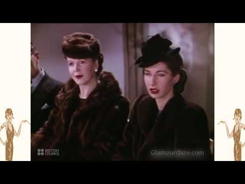 British Wartime Fashion  in Colour  1941 Jack Cardiff