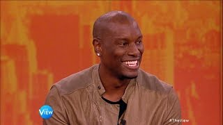 Tyrese Gibson Talks 'Fast & Furious', Music on 'The View'