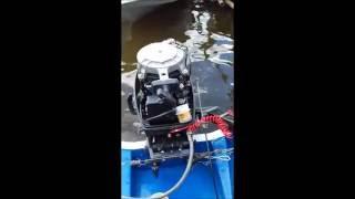 Как подключить дистанционное управление на лодочный мотор Suzuki DT 15 своими руками(Видео поможет вам, как подключить дистанционное управление на лодочный мотор Suzuki DT 15 своими руками с минима..., 2016-07-27T18:16:16.000Z)