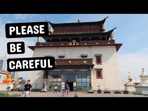 The capital of Mongolia (Ulaanbaatar / Ulan-Bator) In A Day | Best Thing To Do In UB