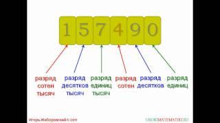 """Видеоурок """"Обозначение натуральных чисел"""""""