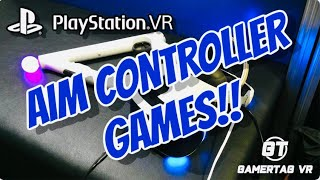 Games For The Psvr Aim Controller | Playstation Vr Aim Controller Support