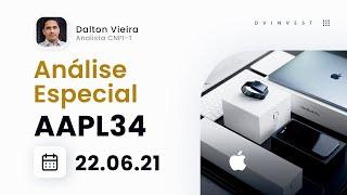 Análise Especial   BRDs da Apple (AAPL34) - Compra agora ou corrige mais?