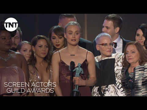 Orange is the New Black: Acceptance Speech | 23rd Annual SAG Awards | TNT