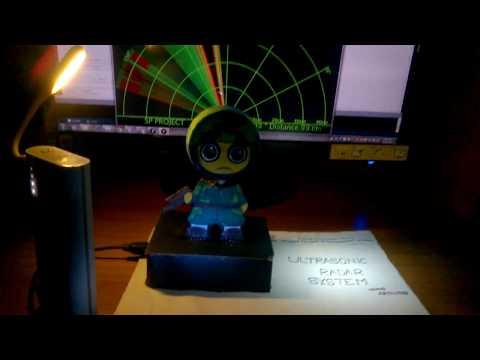 Ultrasonic Radar System (using arduino)