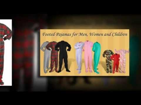 Footed Pajamas, Onesies,  Adult Footed Pajamas, Kids Pajamas and More