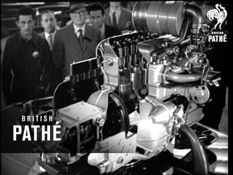 World News - Turin Motor Show (1950)
