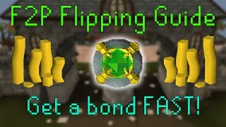 How to flip in F2P! OSRS money making guide