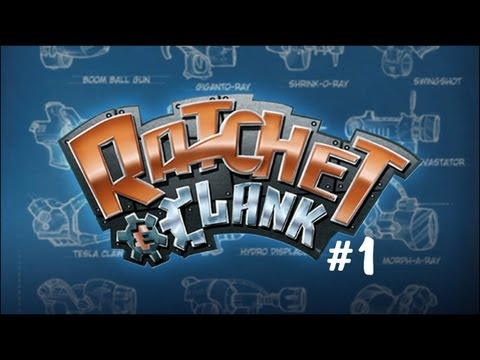 Ratchet And Clank #1- Clank Is Beast