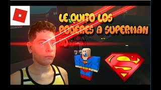 Roblox Super Heroe Tycoon Gameplay #2 I TAKE THE POWERS TO SUPERMAN !!! | ElMylhamPlays