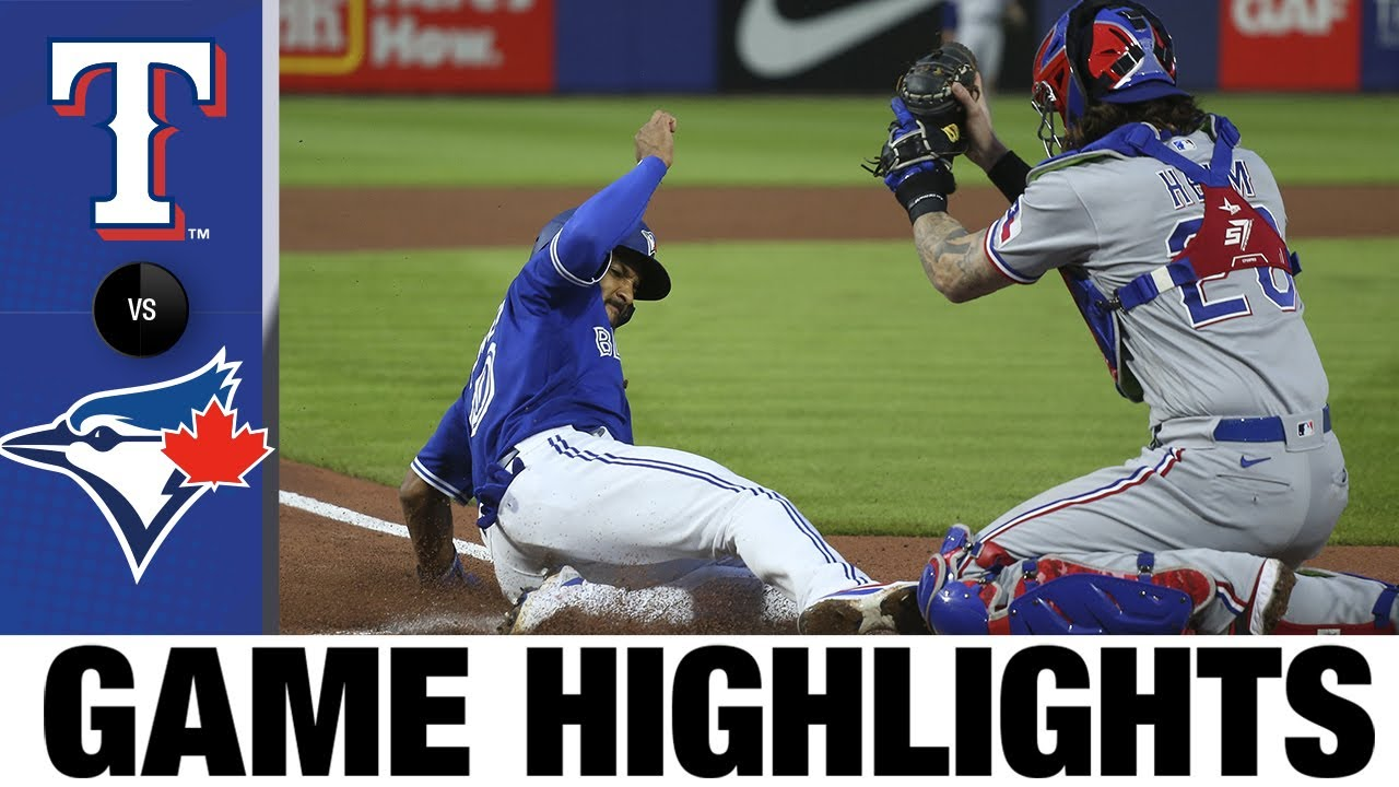 Download Rangers vs. Blue Jays Game Highlights (7/16/21) | MLB Highlights