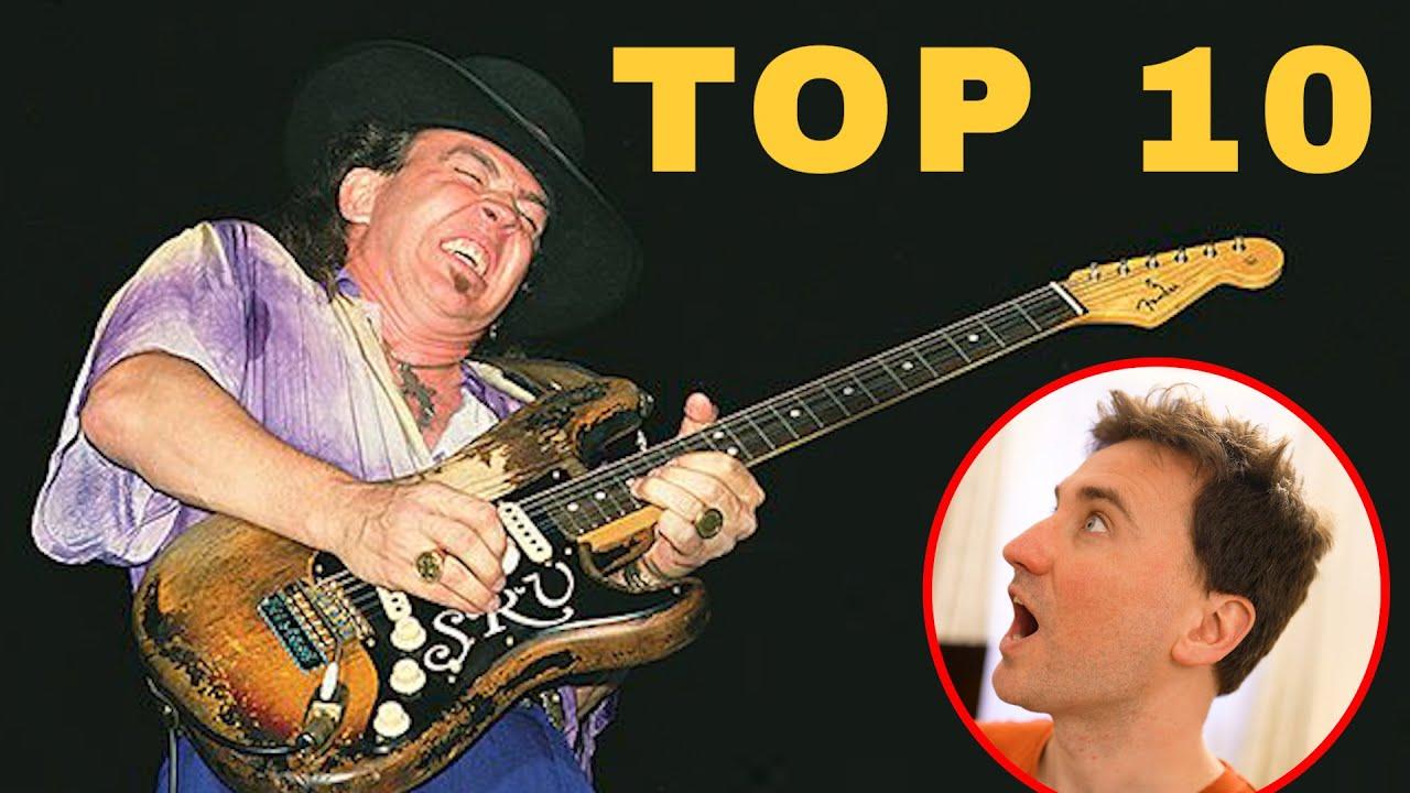 TOP 10 STEVIE RAY VAUGHAN SONGS!!