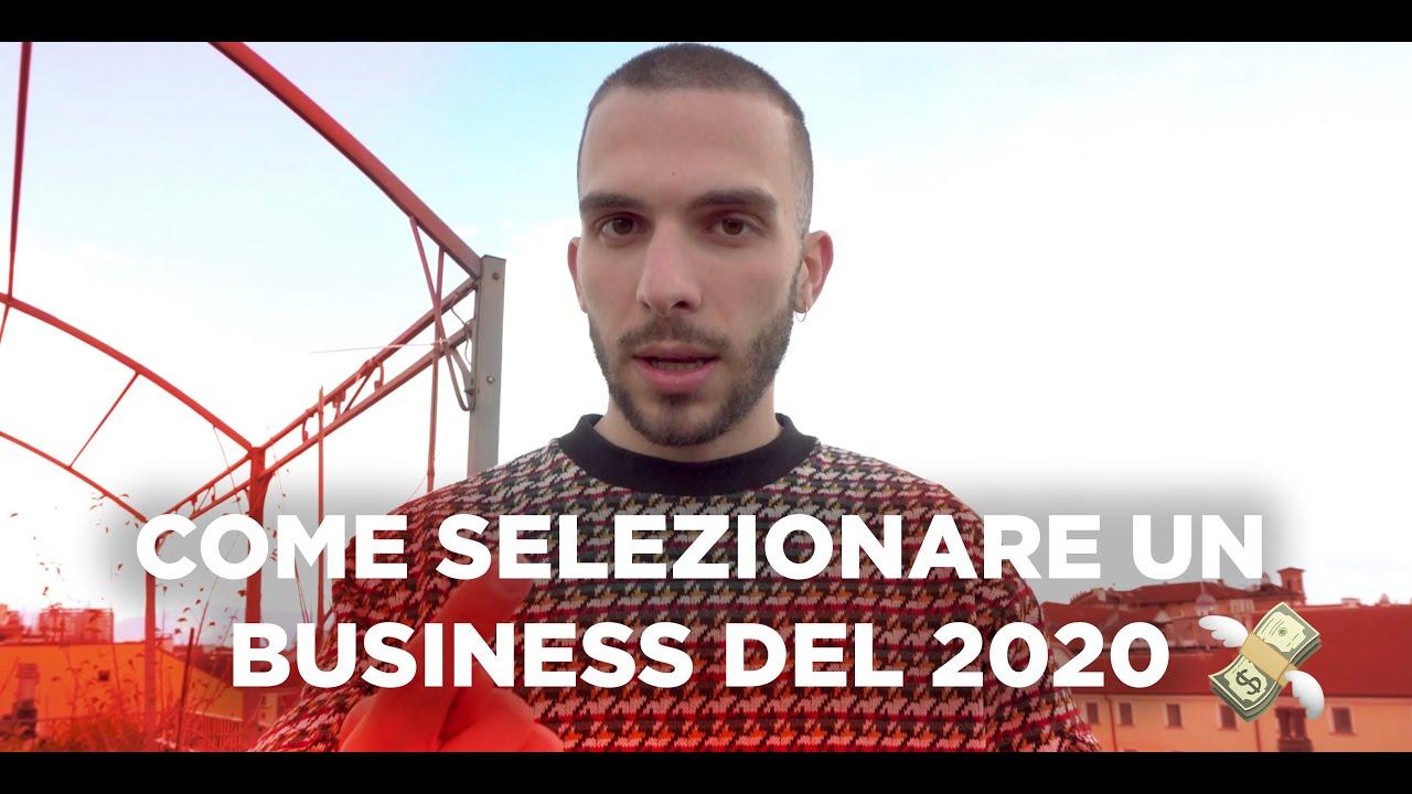 Come selezionare un business del 2020