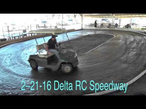 Delta RC Speedway Track Prep