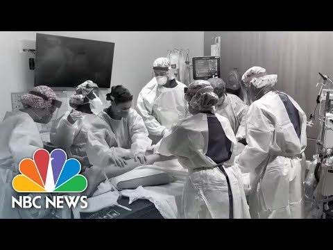 Some Doctors On Front Lines of Coronavirus Pandemic Face Pay Cuts, Wage Freezes | NBC News NOW