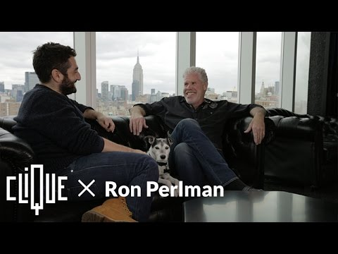 Clique x Ron Perlman