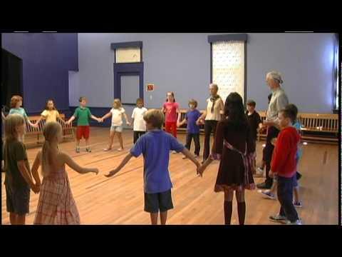 New England Dancing Masters - Teaching the Circle Waltz Mixer
