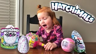 OPENING HATCHIMALS (with surprise eggs)