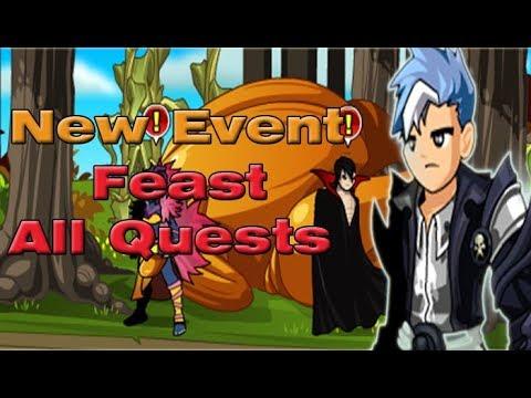 =AQW= /Join Feast - Full Walkthrough (Ergotth Quests) - 2017