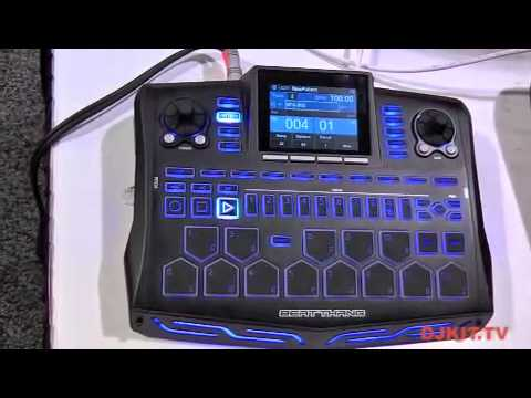 bke beat thang drum machine namm 2012 with youtube. Black Bedroom Furniture Sets. Home Design Ideas