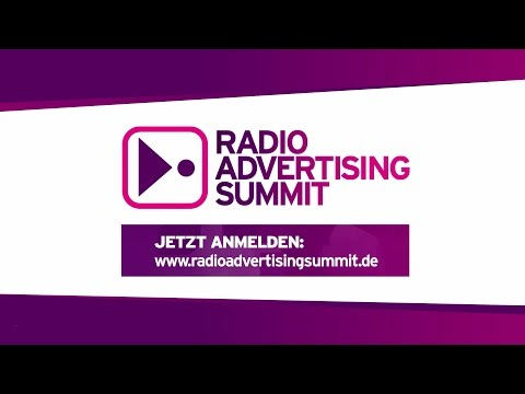 Radio Advertising Summit – am 14.4.2016 in Düsseldorf