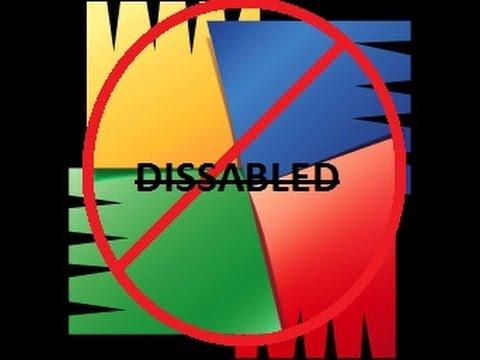 how do i disable avg antivirus